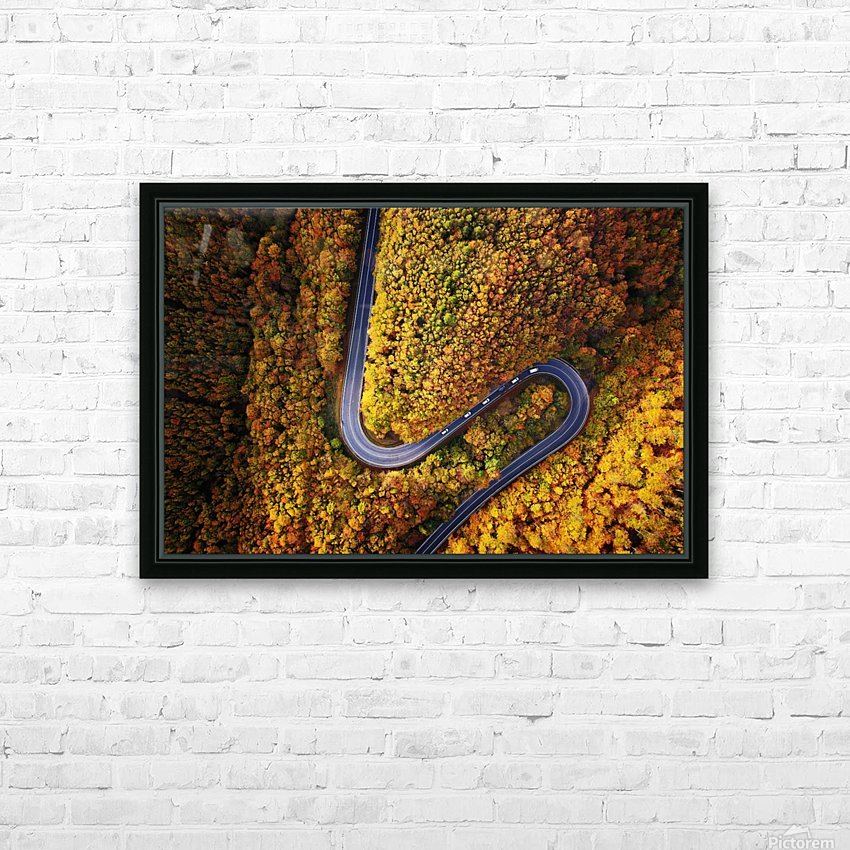 Serpentine column HD Sublimation Metal print with Decorating Float Frame (BOX)