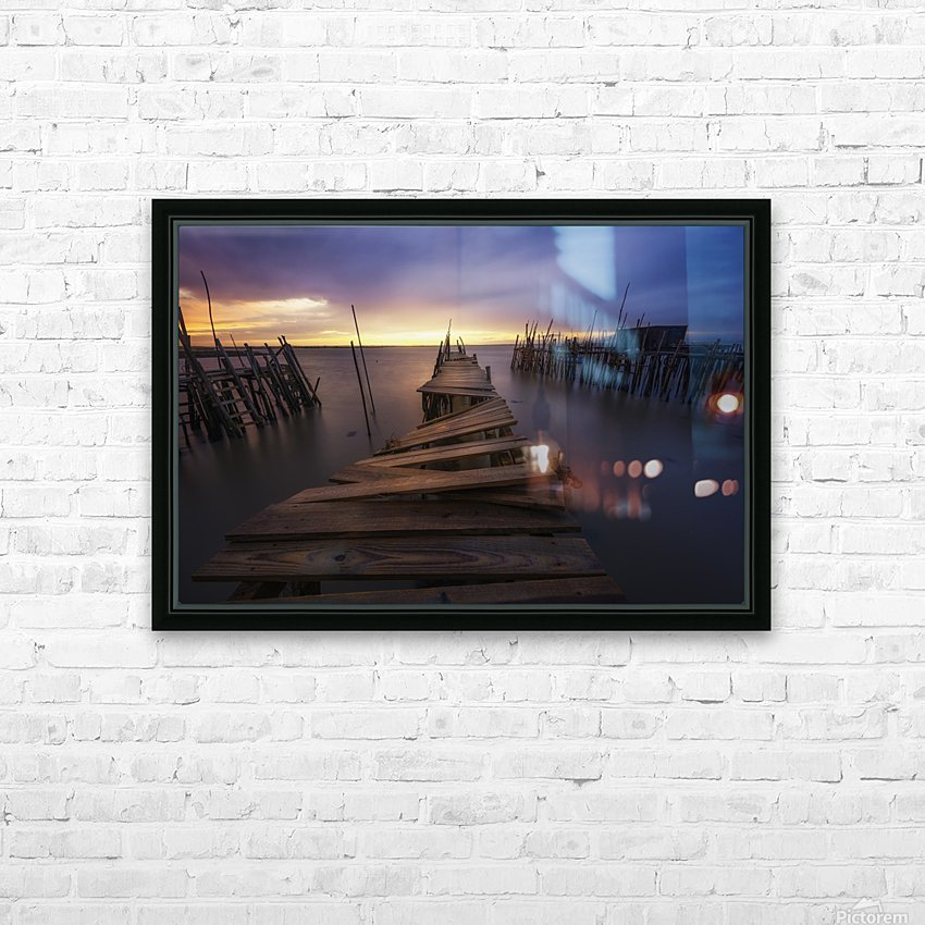 The end HD Sublimation Metal print with Decorating Float Frame (BOX)