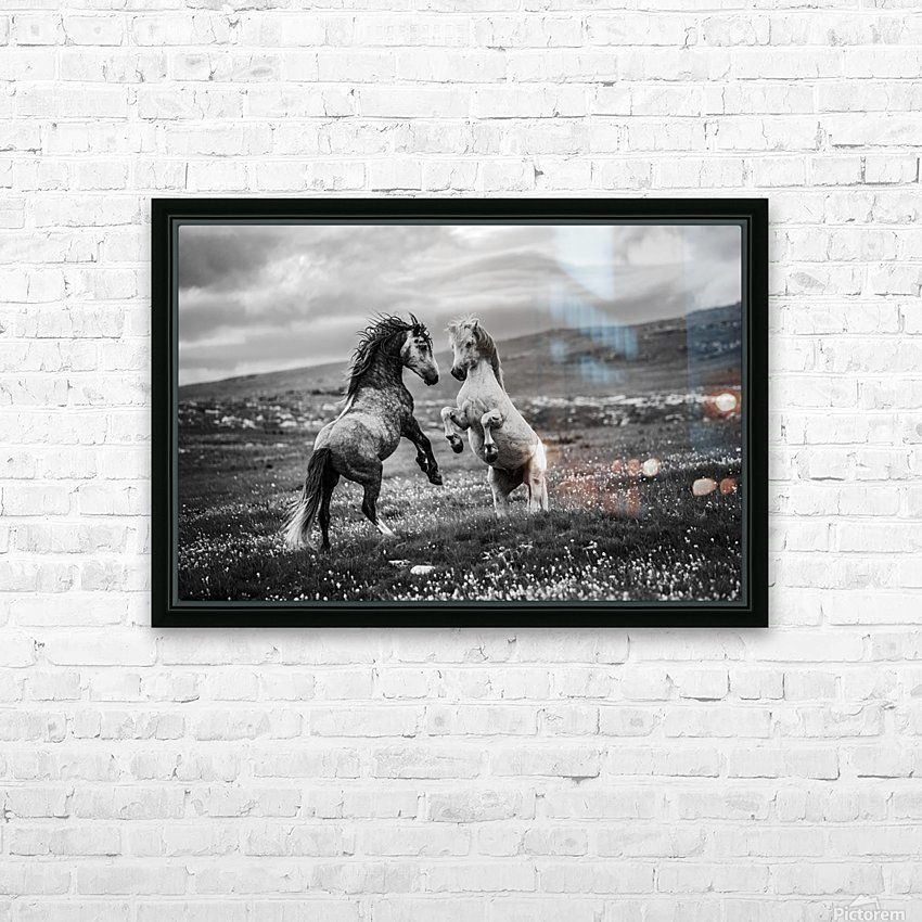 Wild and free HD Sublimation Metal print with Decorating Float Frame (BOX)