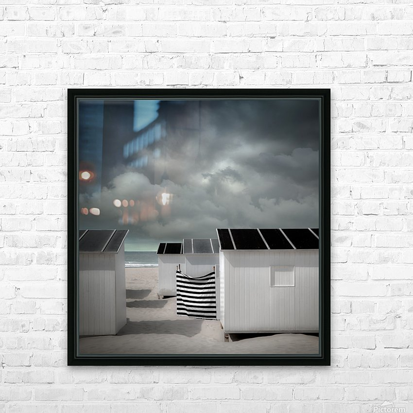 Waiting for summer HD Sublimation Metal print with Decorating Float Frame (BOX)