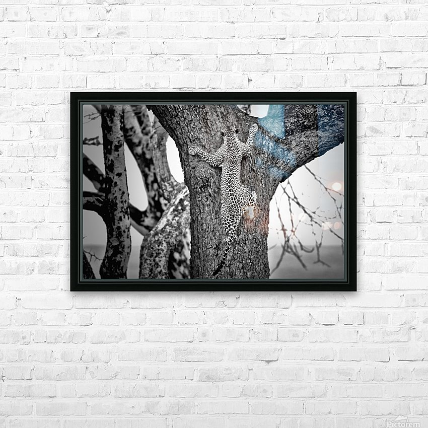 Spiderman HD Sublimation Metal print with Decorating Float Frame (BOX)