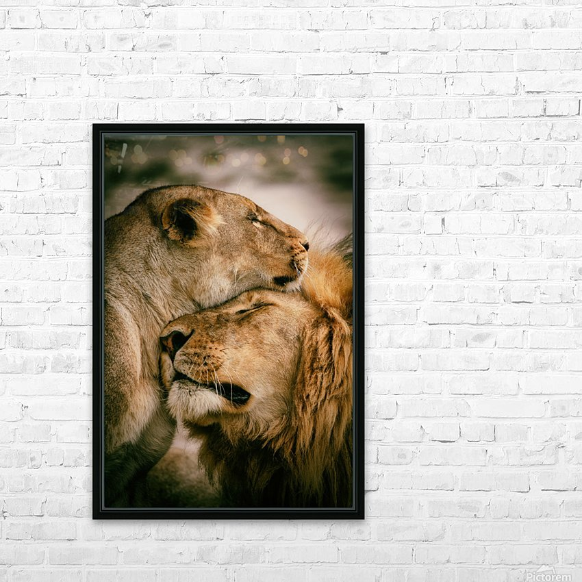 What is love HD Sublimation Metal print with Decorating Float Frame (BOX)