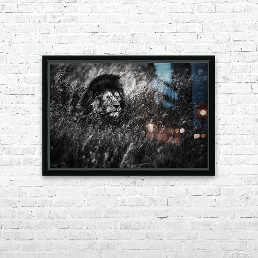 Immortal HD Sublimation Metal print with Decorating Float Frame (BOX)
