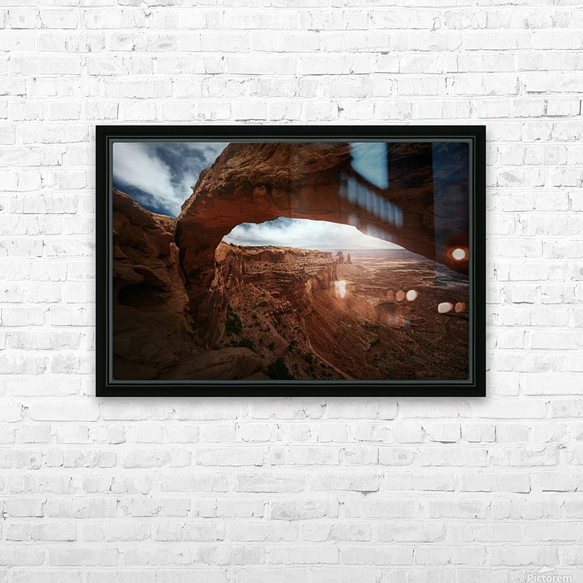 Mesa Arch HD Sublimation Metal print with Decorating Float Frame (BOX)