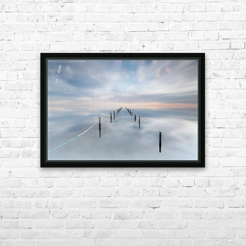 The calm HD Sublimation Metal print with Decorating Float Frame (BOX)