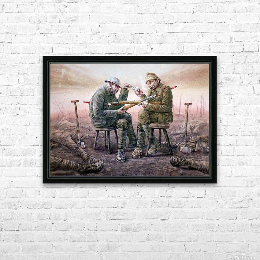 8 Krzysztof Grzondziel HD Sublimation Metal print with Decorating Float Frame (BOX)
