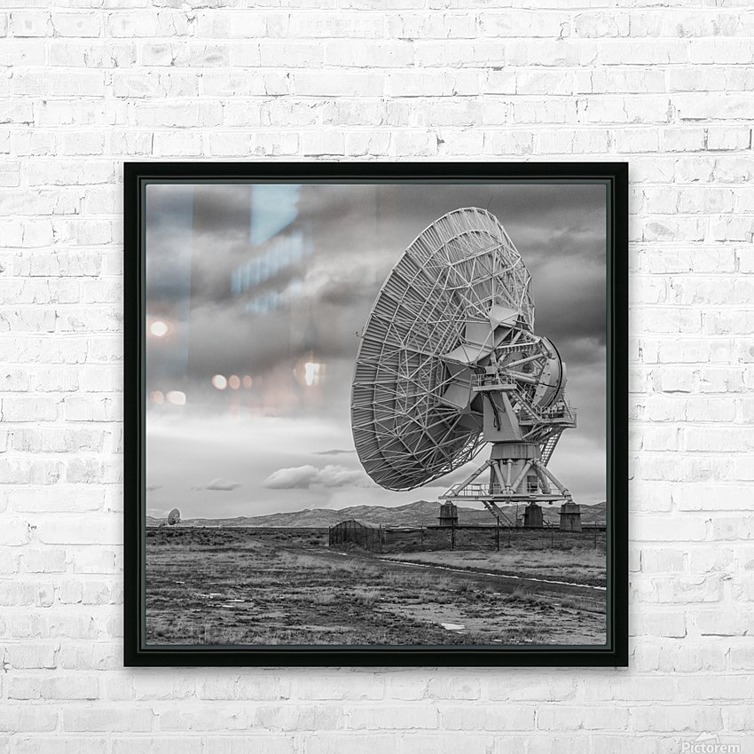 Very Large Array New Mexico HD Sublimation Metal print with Decorating Float Frame (BOX)