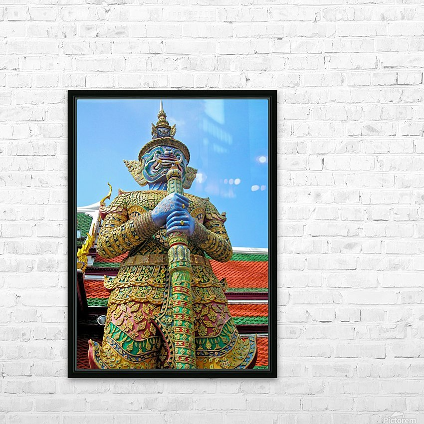 Thailand23 HD Sublimation Metal print with Decorating Float Frame (BOX)