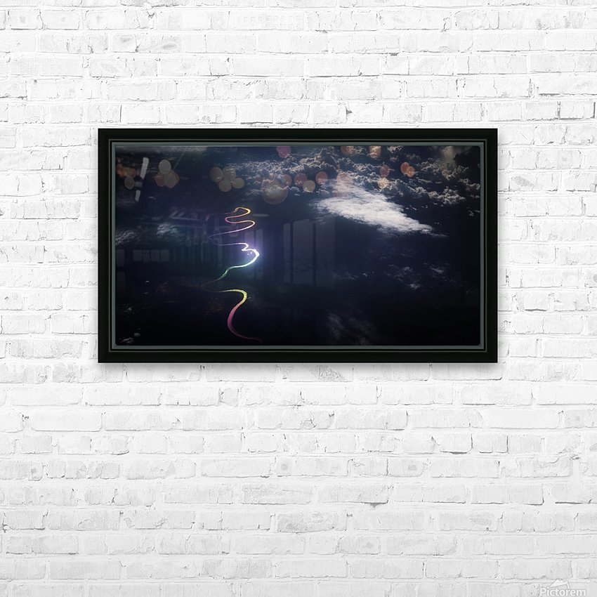 The Kelmantan River II HD Sublimation Metal print with Decorating Float Frame (BOX)