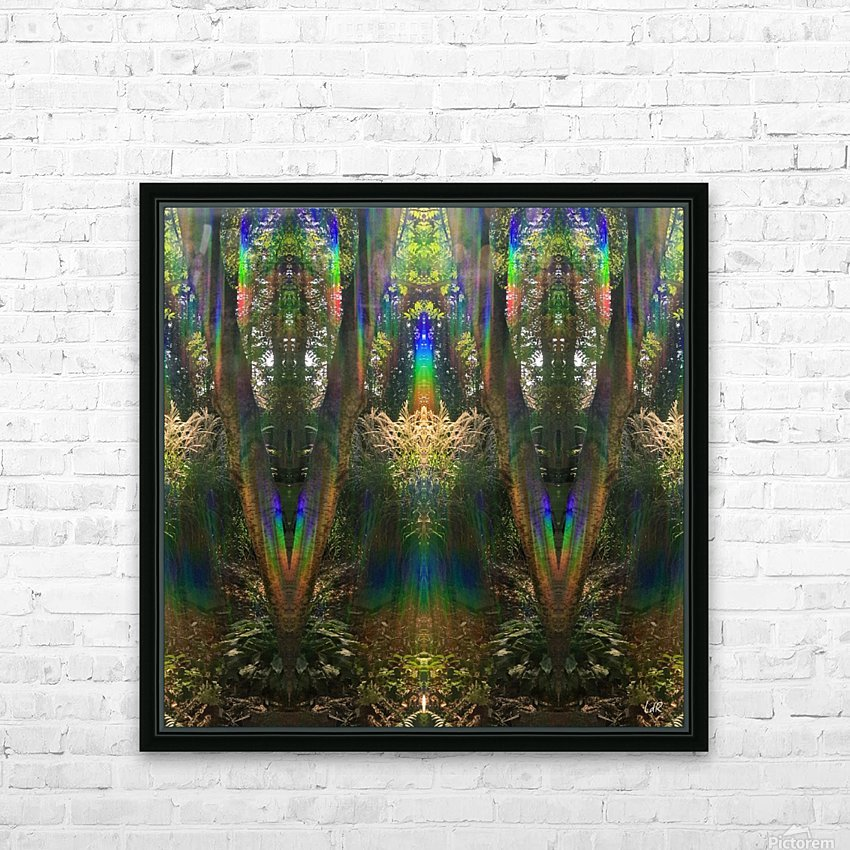 Beam Me Up HD Sublimation Metal print with Decorating Float Frame (BOX)