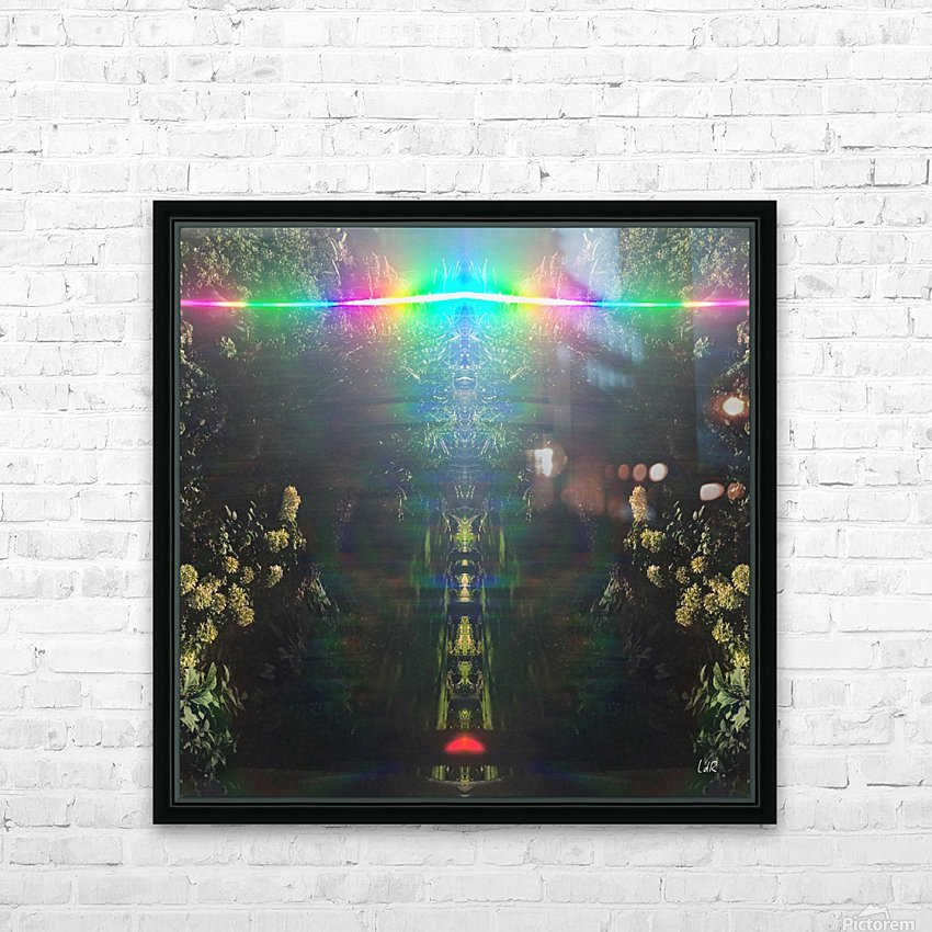 Warrior Totem HD Sublimation Metal print with Decorating Float Frame (BOX)