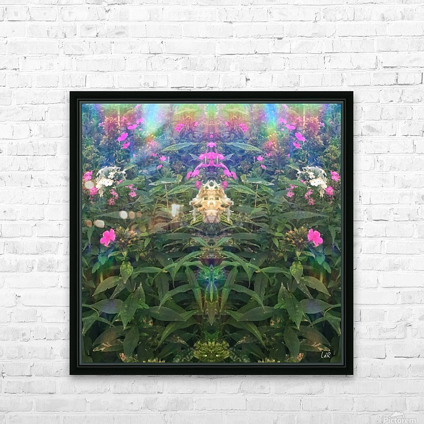 King of the Forest HD Sublimation Metal print with Decorating Float Frame (BOX)