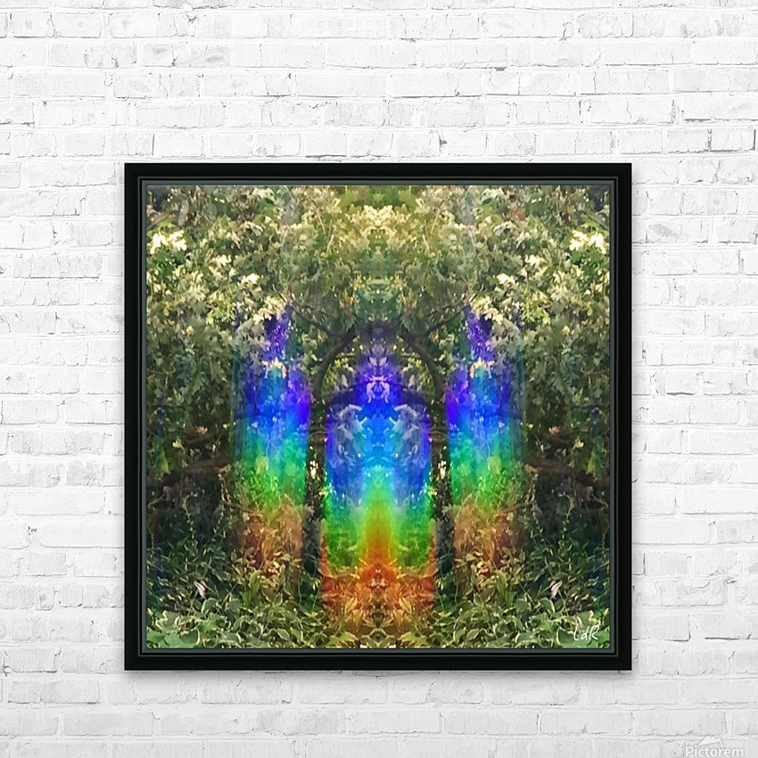 Light Guardians HD Sublimation Metal print with Decorating Float Frame (BOX)