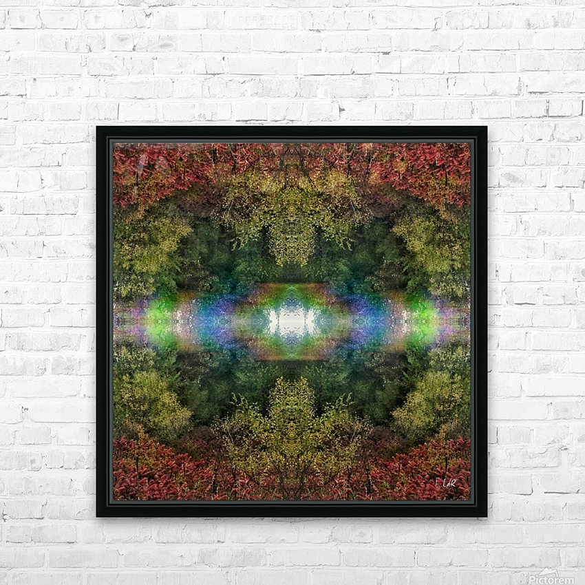 Accidental Portal HD Sublimation Metal print with Decorating Float Frame (BOX)