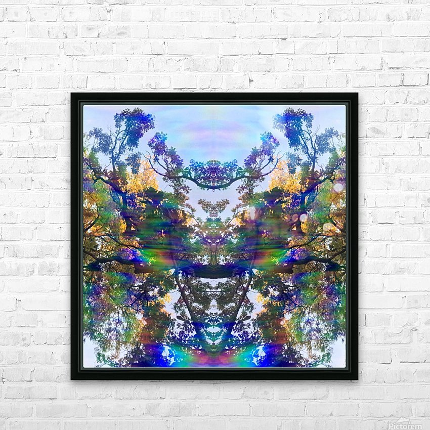 Deer King HD Sublimation Metal print with Decorating Float Frame (BOX)