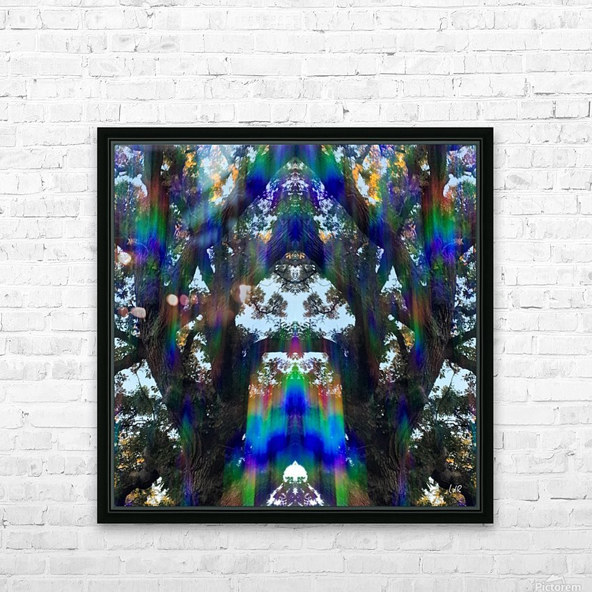 Who Goes There HD Sublimation Metal print with Decorating Float Frame (BOX)