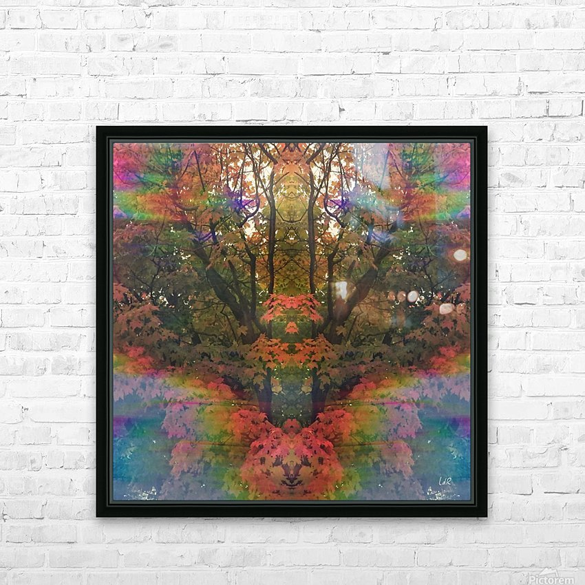 The Happy Totem HD Sublimation Metal print with Decorating Float Frame (BOX)