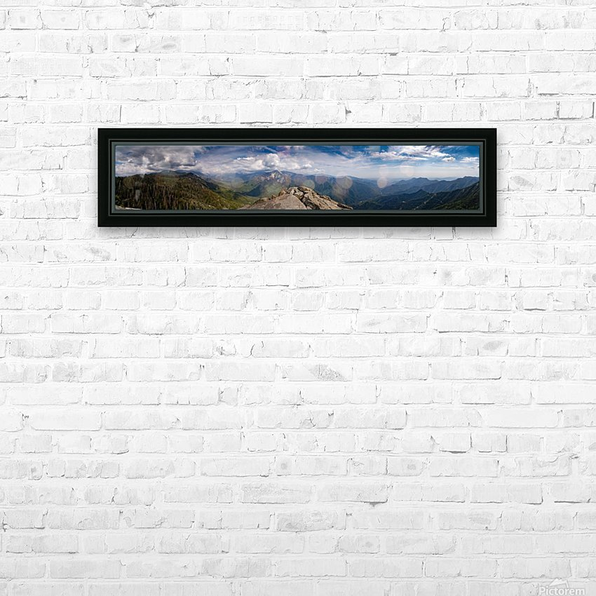 California Cloudscape HD Sublimation Metal print with Decorating Float Frame (BOX)