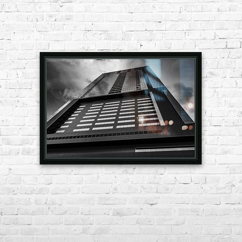 SKYSCRAPER HD Sublimation Metal print with Decorating Float Frame (BOX)