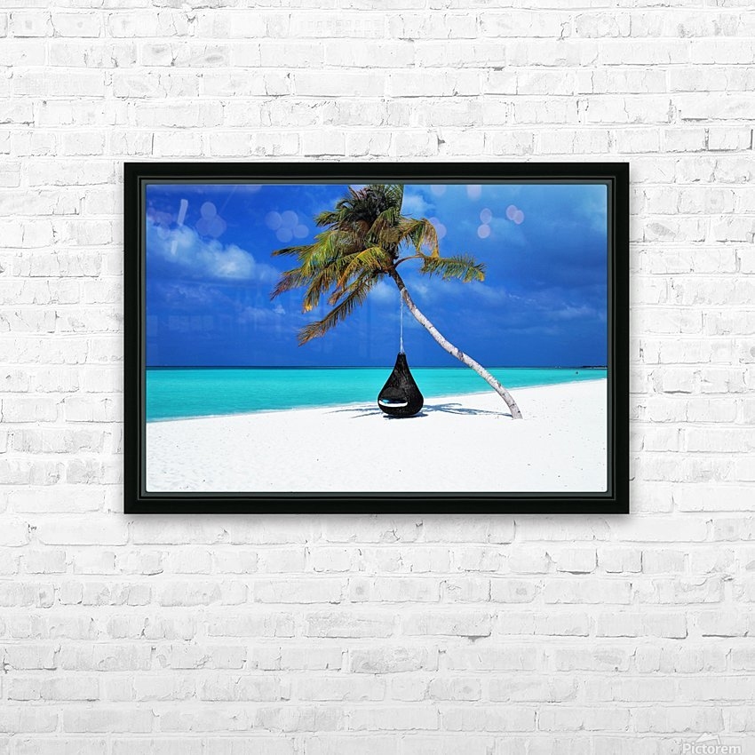 ONE DAY HD Sublimation Metal print with Decorating Float Frame (BOX)