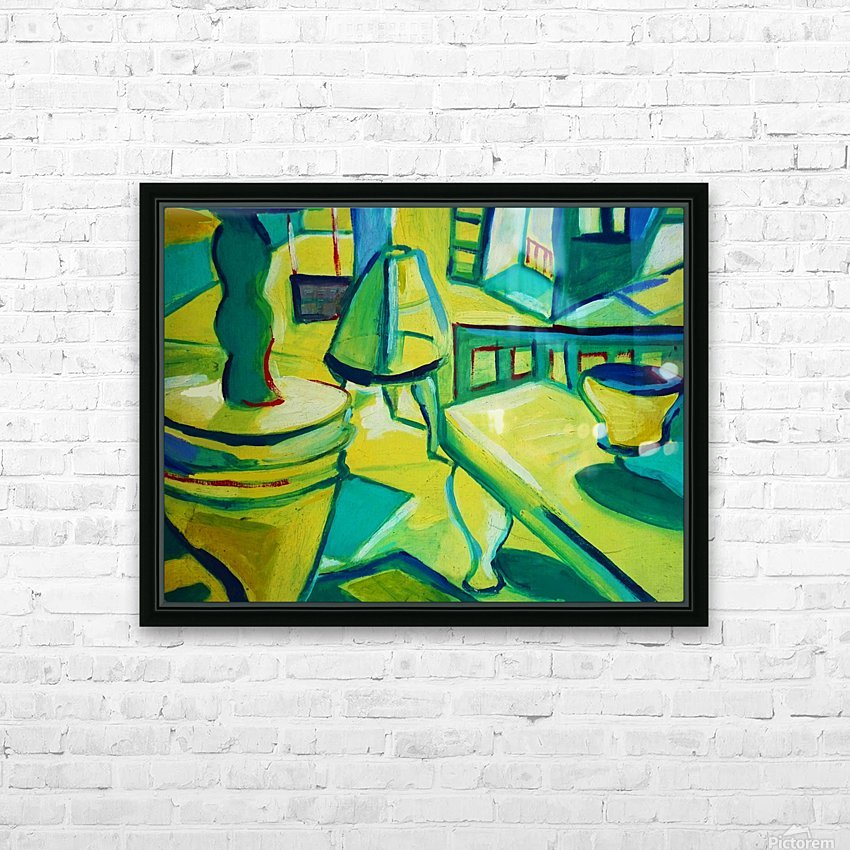 interno HD Sublimation Metal print with Decorating Float Frame (BOX)