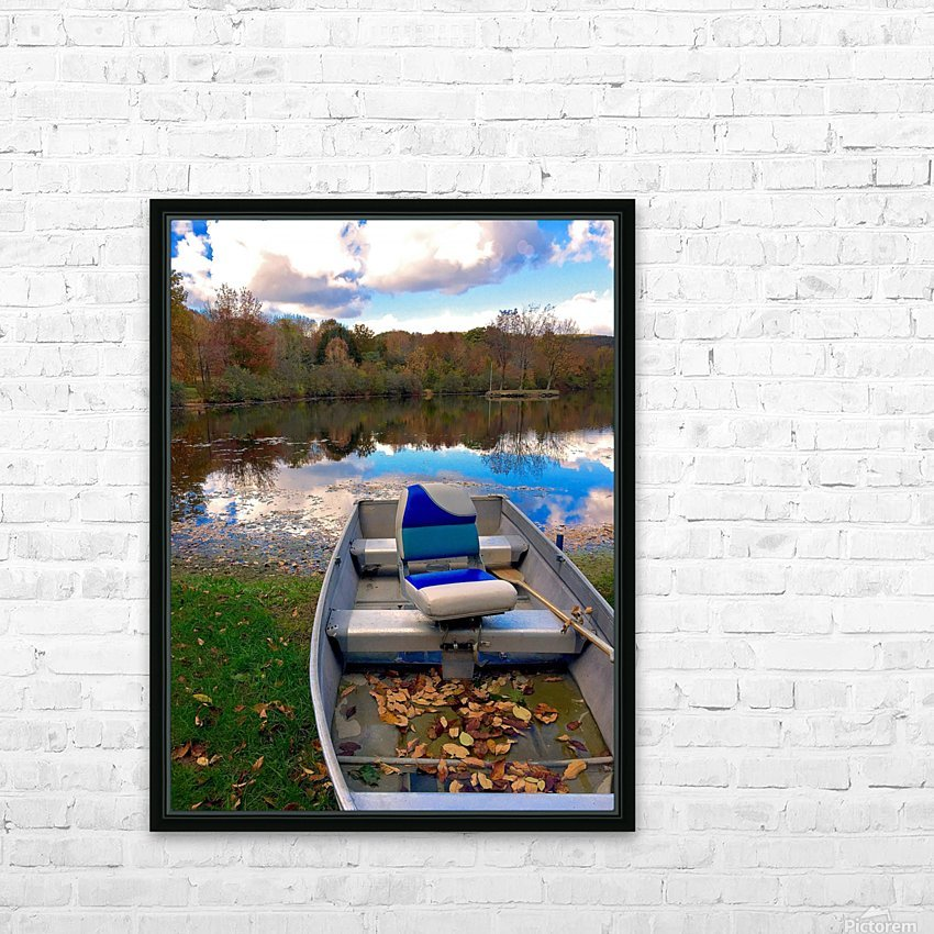 Shartlesville Dinghy HD Sublimation Metal print with Decorating Float Frame (BOX)