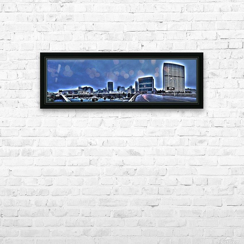 Surreal Atlanta HD Sublimation Metal print with Decorating Float Frame (BOX)
