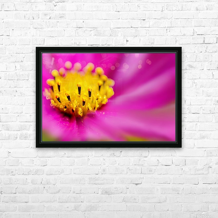 Pink Surprise HD Sublimation Metal print with Decorating Float Frame (BOX)