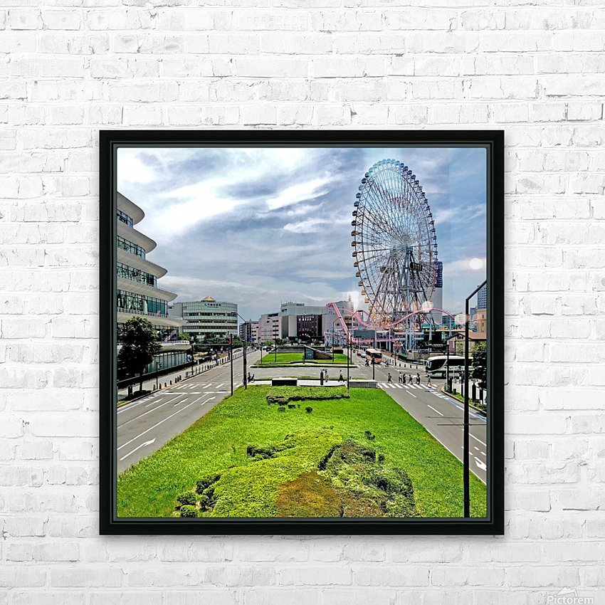 Yokohama HD Sublimation Metal print with Decorating Float Frame (BOX)