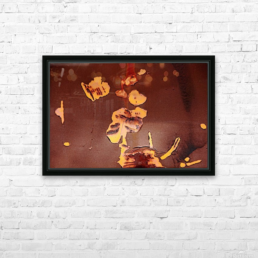 Watching Paint Peel HD Sublimation Metal print with Decorating Float Frame (BOX)