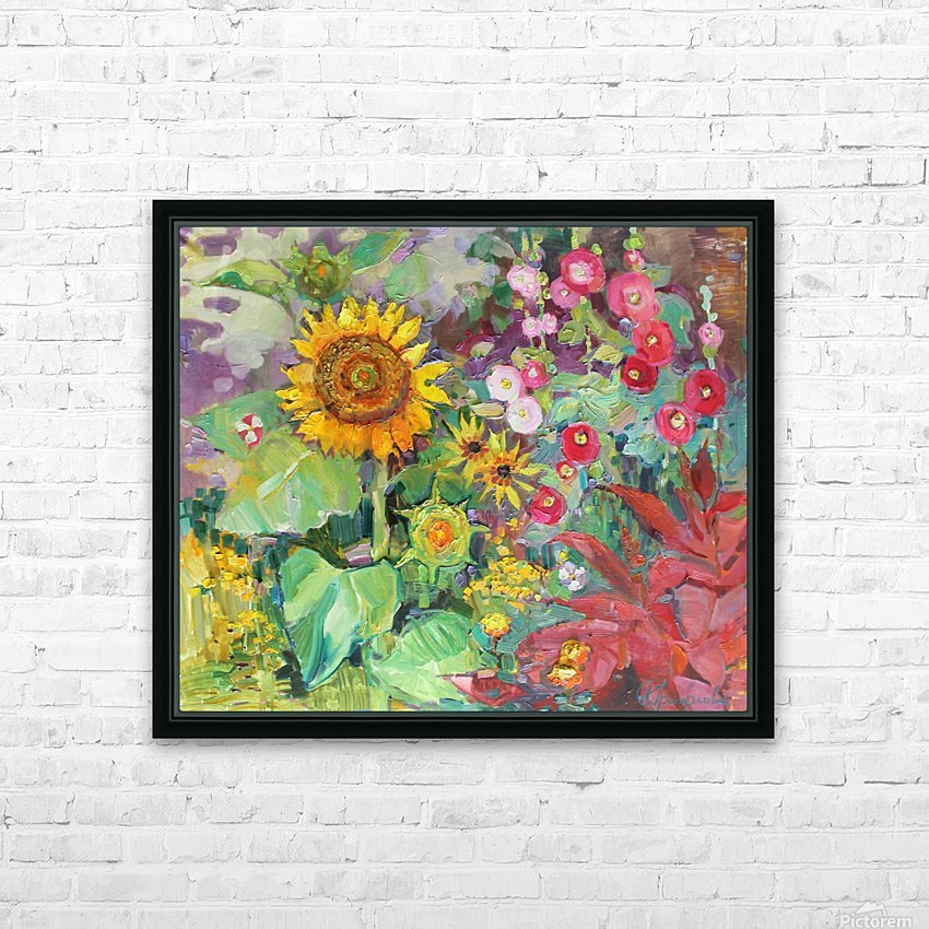 Solar rendezvous  HD Sublimation Metal print with Decorating Float Frame (BOX)
