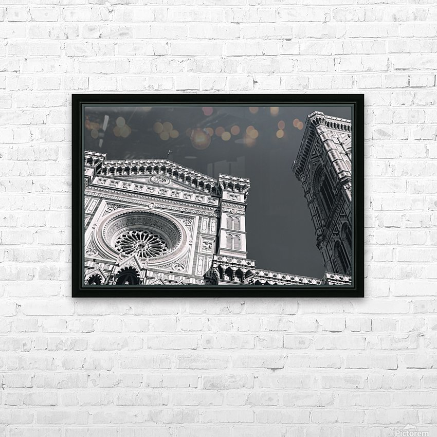 Santa Maria del Fiore HD Sublimation Metal print with Decorating Float Frame (BOX)