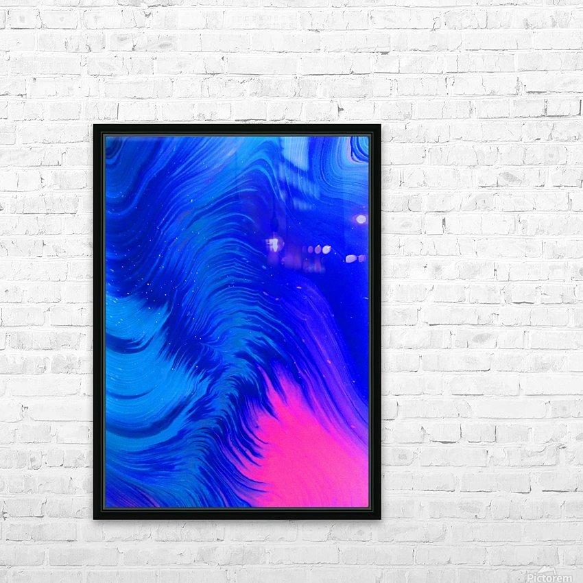 Aurora Borealis HD Sublimation Metal print with Decorating Float Frame (BOX)
