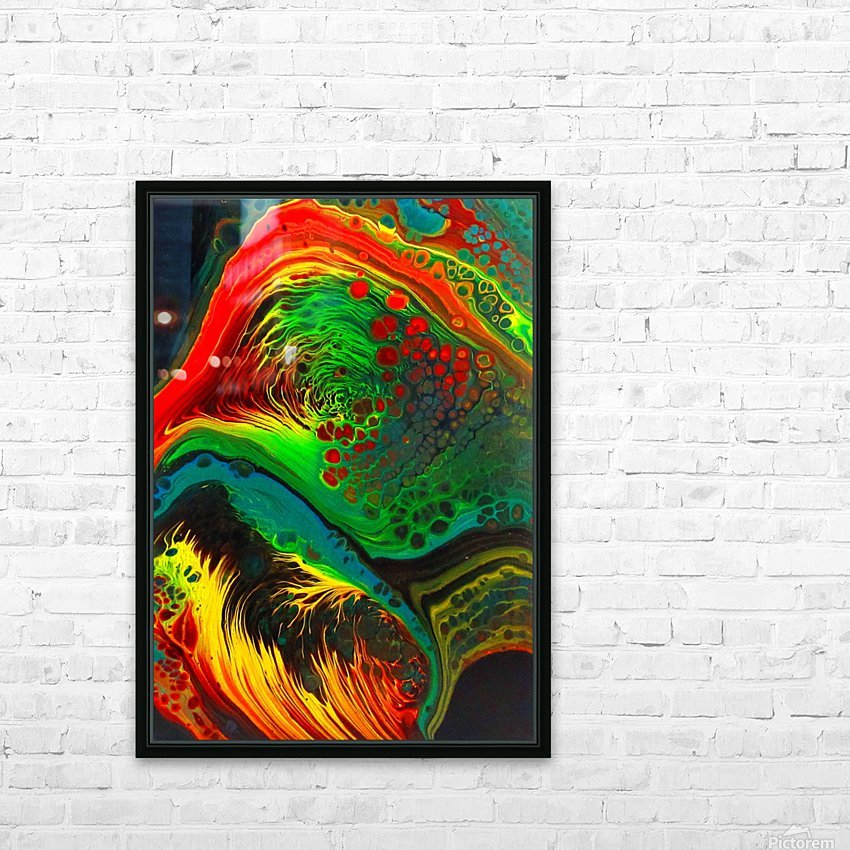 Cosmic Fusion HD Sublimation Metal print with Decorating Float Frame (BOX)