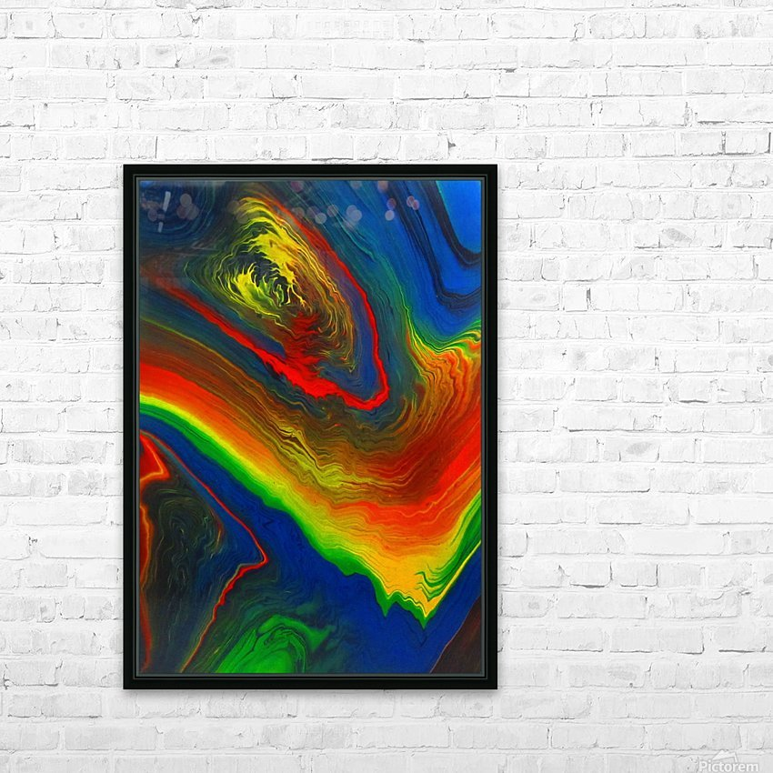 The Eye of a Storm HD Sublimation Metal print with Decorating Float Frame (BOX)