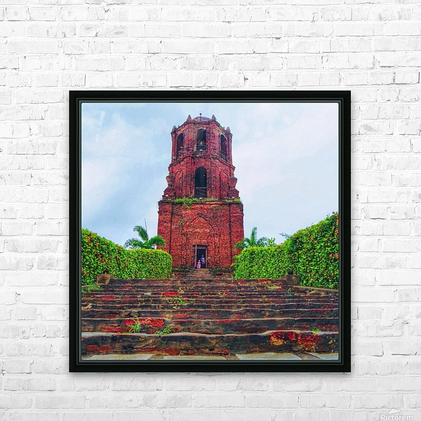 Chucrh HD Sublimation Metal print with Decorating Float Frame (BOX)