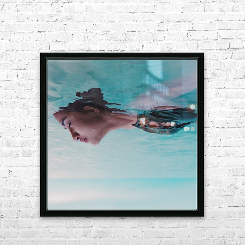 Ups and down HD Sublimation Metal print with Decorating Float Frame (BOX)