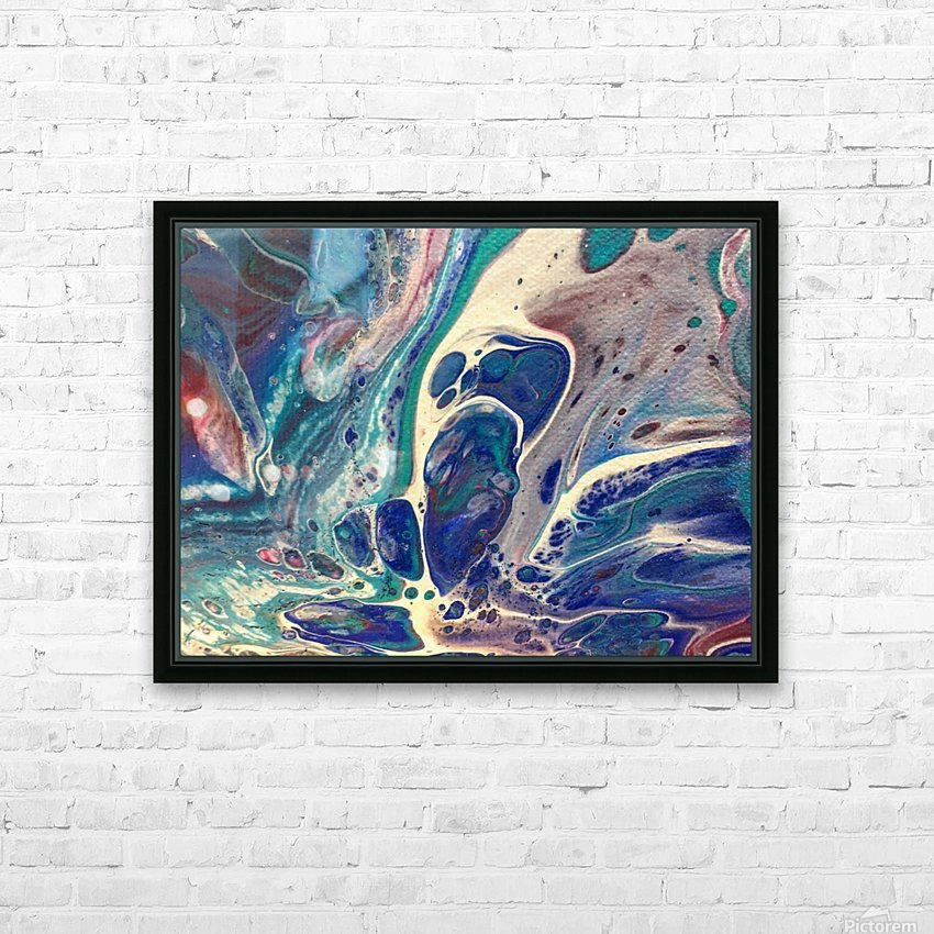 In the Blue HD Sublimation Metal print with Decorating Float Frame (BOX)