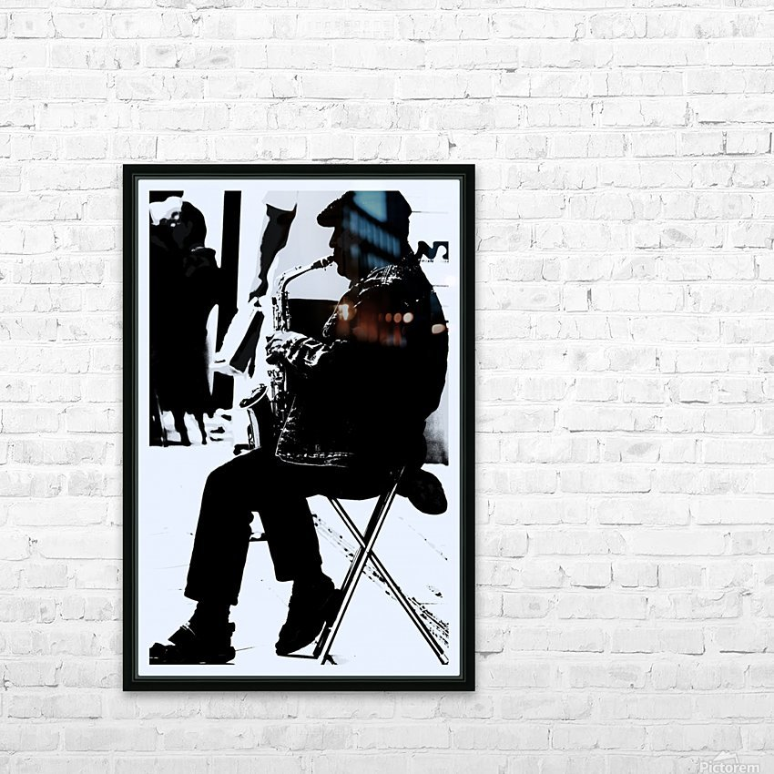 Busker II HD Sublimation Metal print with Decorating Float Frame (BOX)