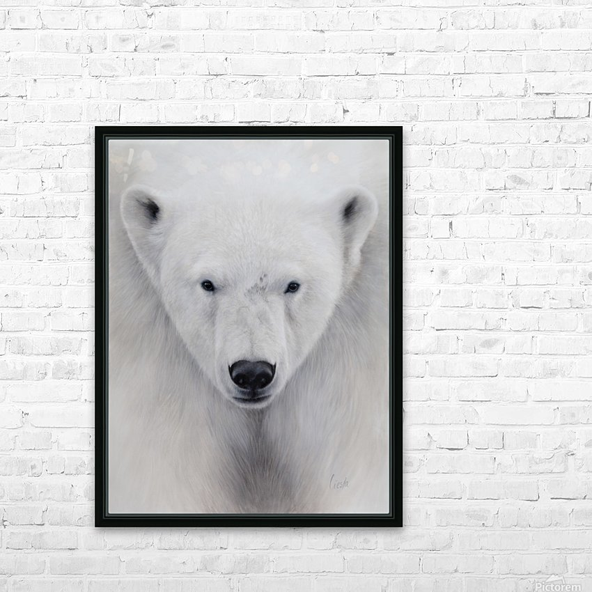 ALPHA HD Sublimation Metal print with Decorating Float Frame (BOX)