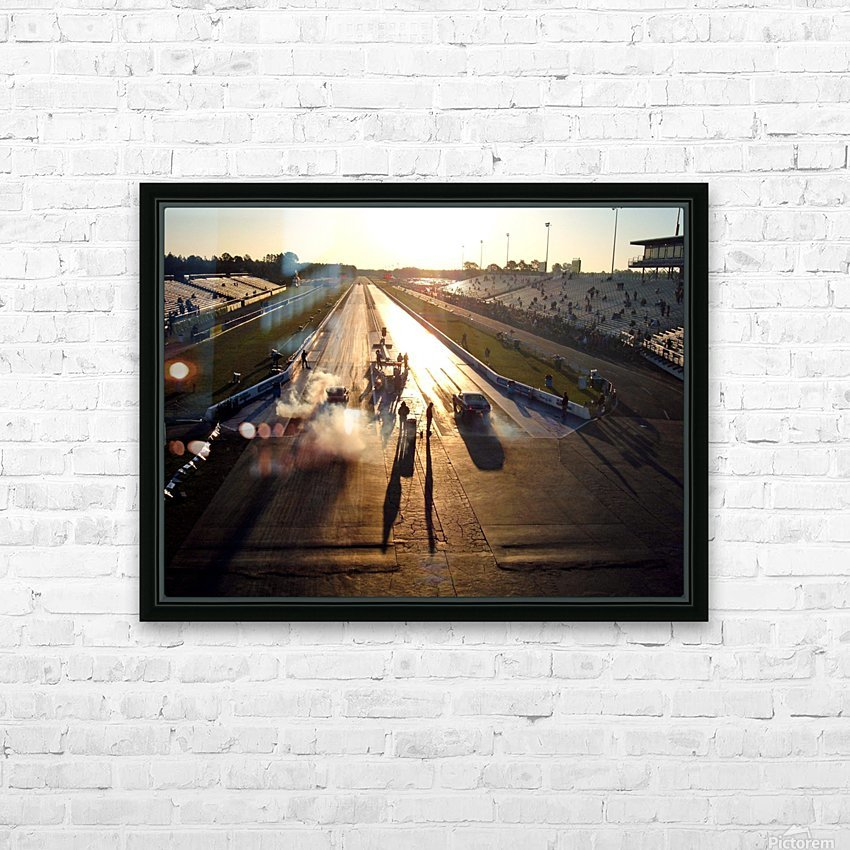 Dawn at the Drags HD Sublimation Metal print with Decorating Float Frame (BOX)