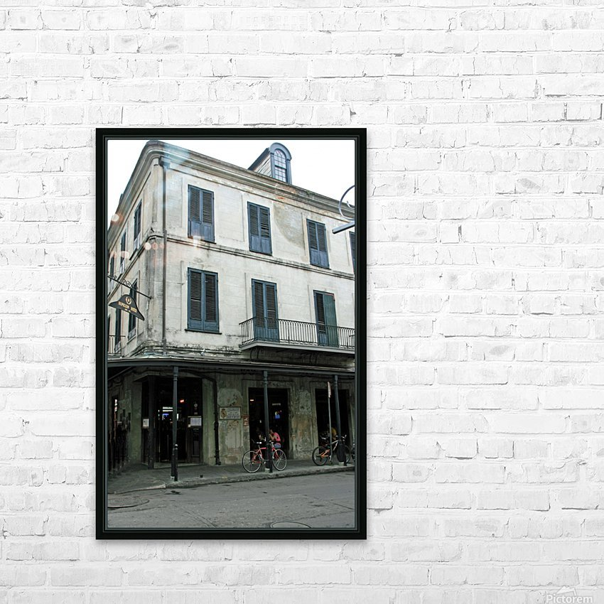 New Orleans Napoleon House HD Sublimation Metal print with Decorating Float Frame (BOX)
