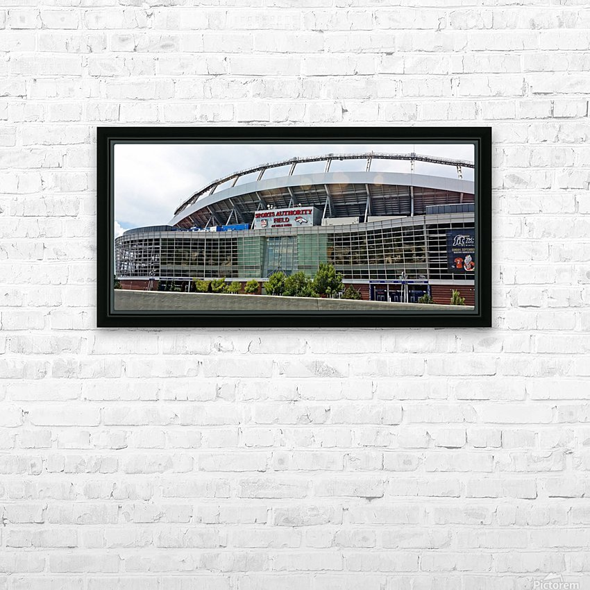 Denver Bronco Stadium HD Sublimation Metal print with Decorating Float Frame (BOX)