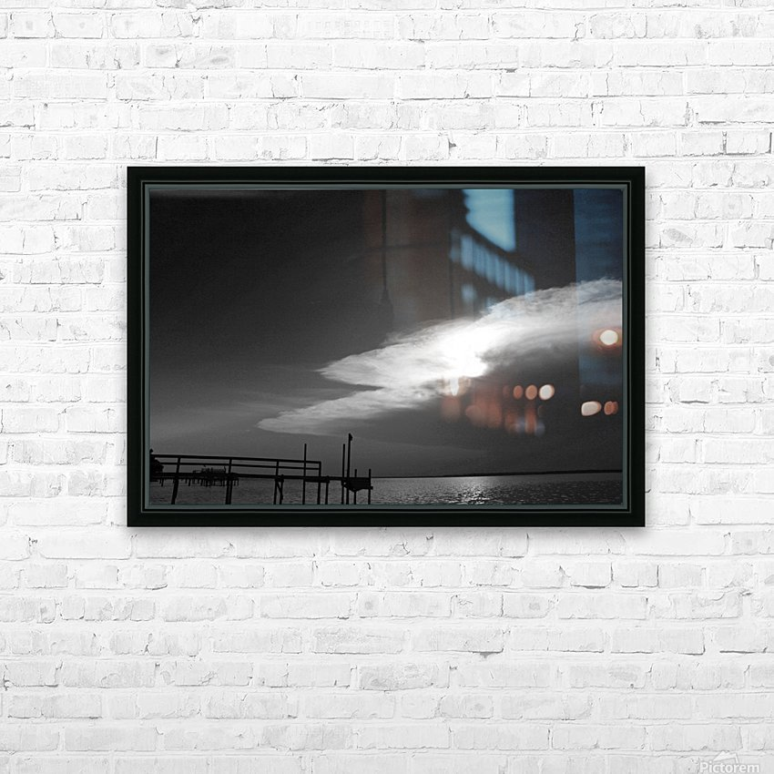 BW Stunning CLoud Sunset HD Sublimation Metal print with Decorating Float Frame (BOX)