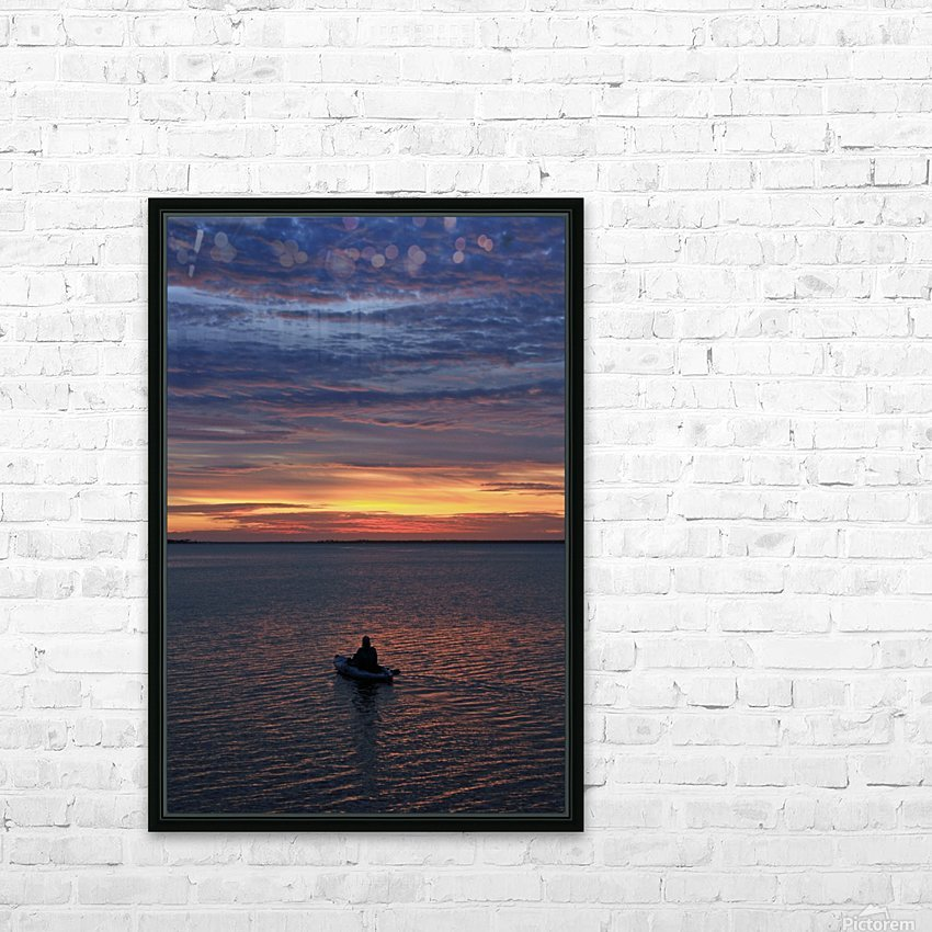 Calm for the Inner You HD Sublimation Metal print with Decorating Float Frame (BOX)