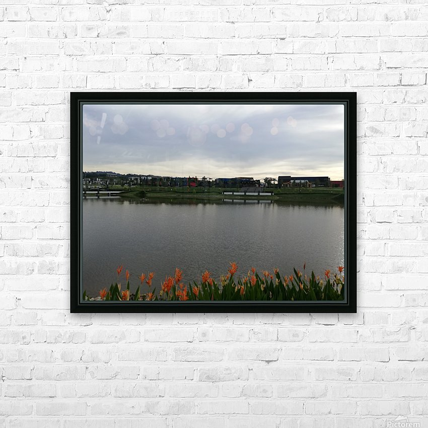 Good morning HD Sublimation Metal print with Decorating Float Frame (BOX)