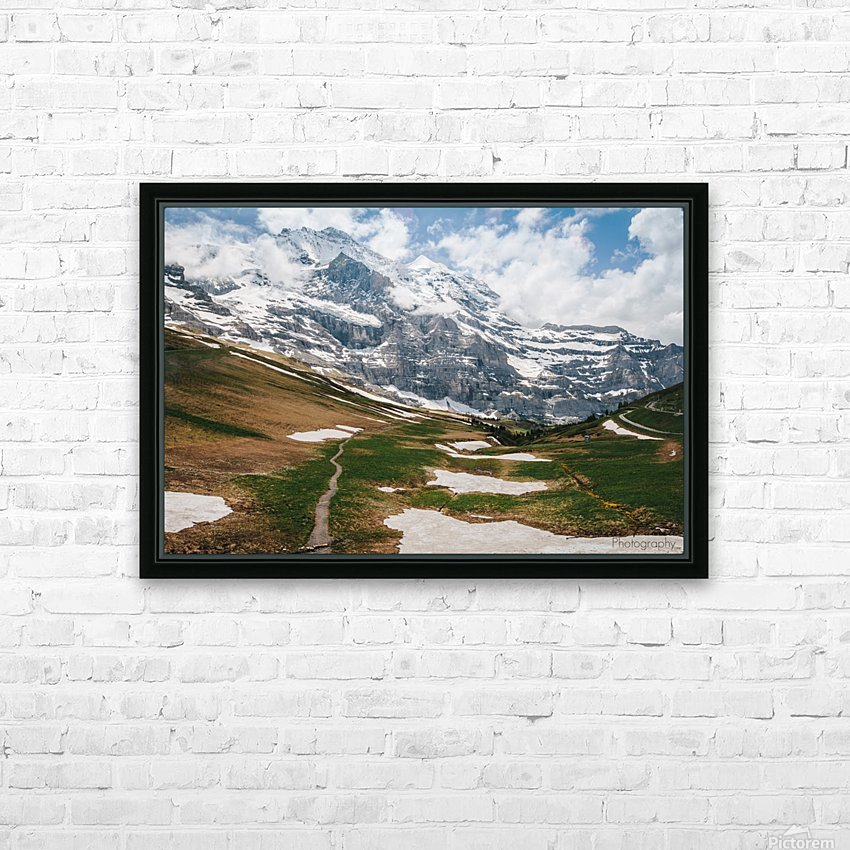 Trailhead HD Sublimation Metal print with Decorating Float Frame (BOX)