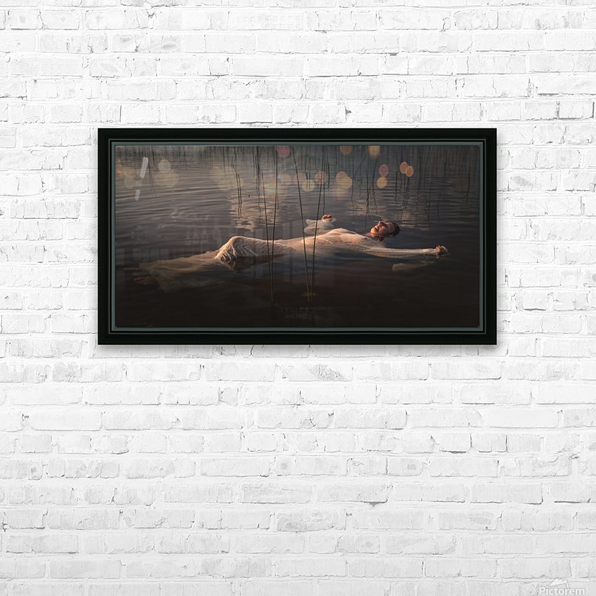 Marie-Élaine HD Sublimation Metal print with Decorating Float Frame (BOX)