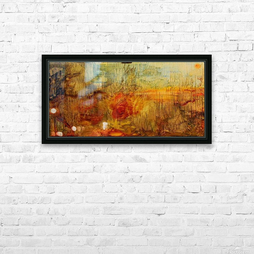 Genesis rewound HD Sublimation Metal print with Decorating Float Frame (BOX)