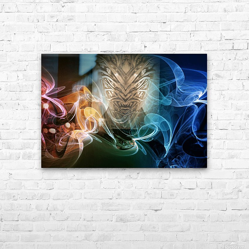 3dArtPhoto_1542858261870 HD Sublimation Metal print with Decorating Float Frame (BOX)